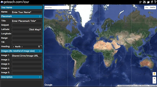 A Tour Maker for the new Google Earth - Google Earth Blog