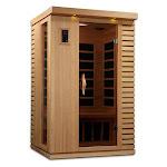 GDI Puretech Ultra Low EMF 2 Person IR Carbon Sauna