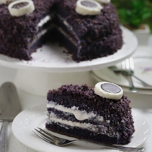 Ube Cake | Kitchen Nostalgia