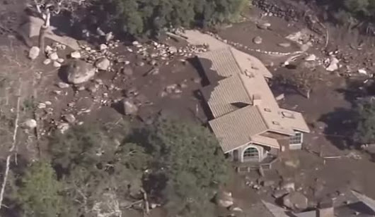 Mudslides ravage California coastal town