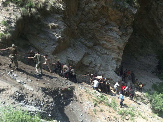 16 Amarnath pilgrims killed, 20 injured in bus accident