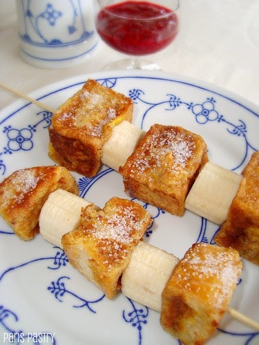 Paris Pastry: French Toast Kebabs