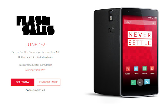 OnePlus One Drops to $249 for the Next 7 Days During Limited Flash Sales | Droid Life
