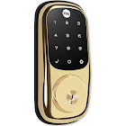 Yale Touchscreen Deadbolt Assure Lock, Connected by August, Bright Brass