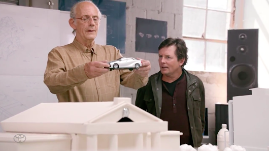 Ad of the Day: Here Is Toyota's Full 5-Minute Spot With Marty McFly and Doc Brown
