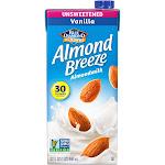 Blue Diamond Almond Breeze Unsweetened Vanilla Almond Milk - 32 fl oz