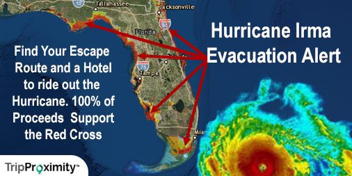 Find Safe Hotels and Evacuation Routes