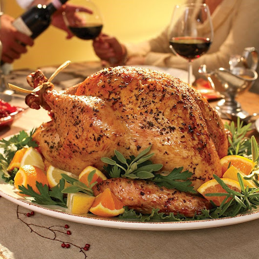 Herb-Roasted Turkey  Recipe