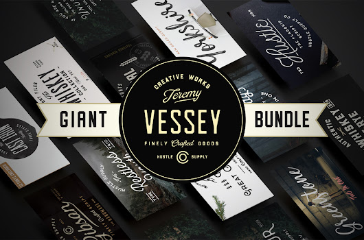 Giant Bundle | 56 Fonts ~ Display Fonts on Creative Market