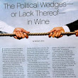 Wine And Politics: A Clarification