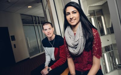 Two UConn Business Undergrads Honored as among University's Most Promising