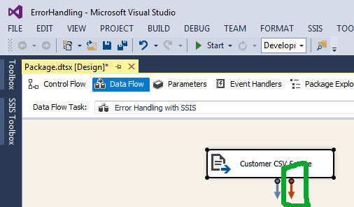 Error Handling in SSIS with an example step by step : Learn MSBI Tutorials