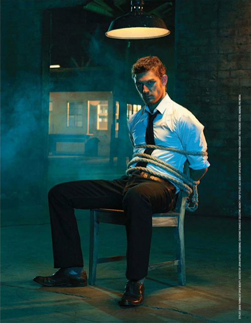 Men's Health UK - August 2012, Alex Pettyfer