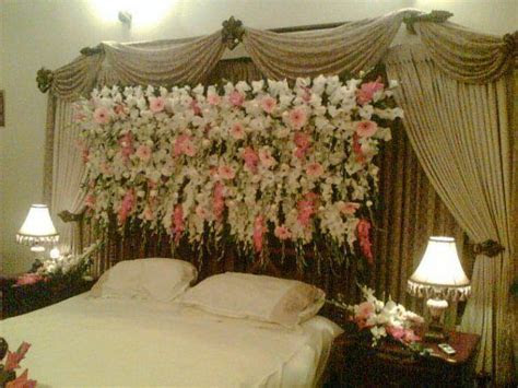 Wedding Bed Decoration   Hairstyles And Fashion