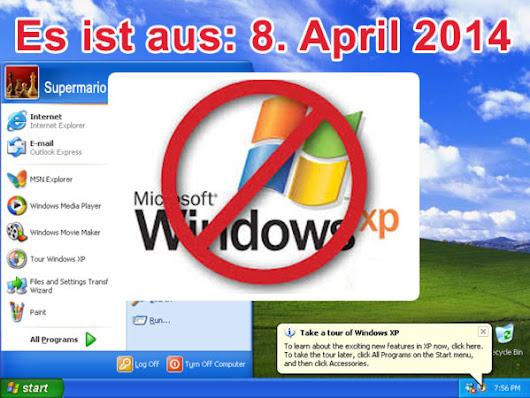 Aus für Windows XP