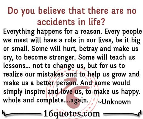 Quotes About Happen For A Reason 101 Quotes
