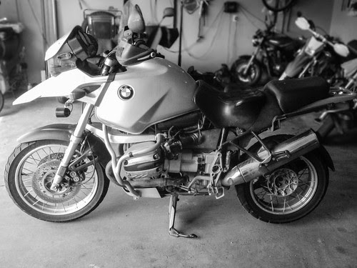 First ride of a 2001 bmw r1150gs