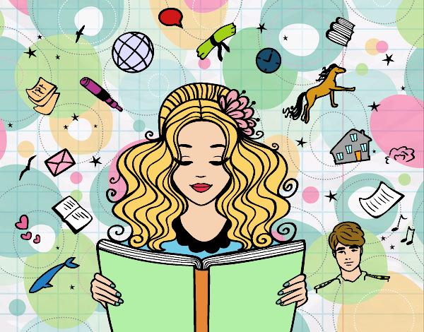 Dibujo De Día Del Libro Pintado Por Superrita En Dibujosnet El Día