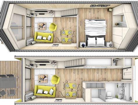 tiny house heijmans  amsterdam floor plans humble homes