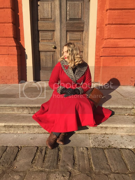 #twirlywintercoatcollab with Butterick 5824