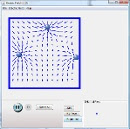 Screenshot of the simulation Electric Field of Dreams