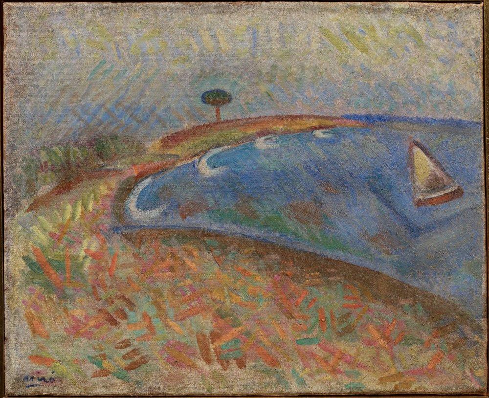 Resultado de imagen de Joan Miró, montroig playa