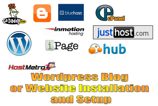 I will setup and install Worpress your blog or website for $5