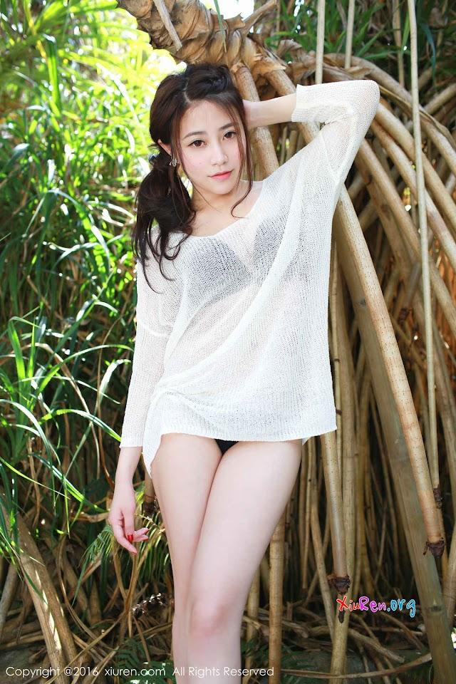 XiuRen N00497 许诺Sabrina 50P