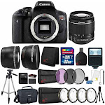 Canon Eos Rebel T6 18MP DSLR Camera with 18-55mm Lens , Canon