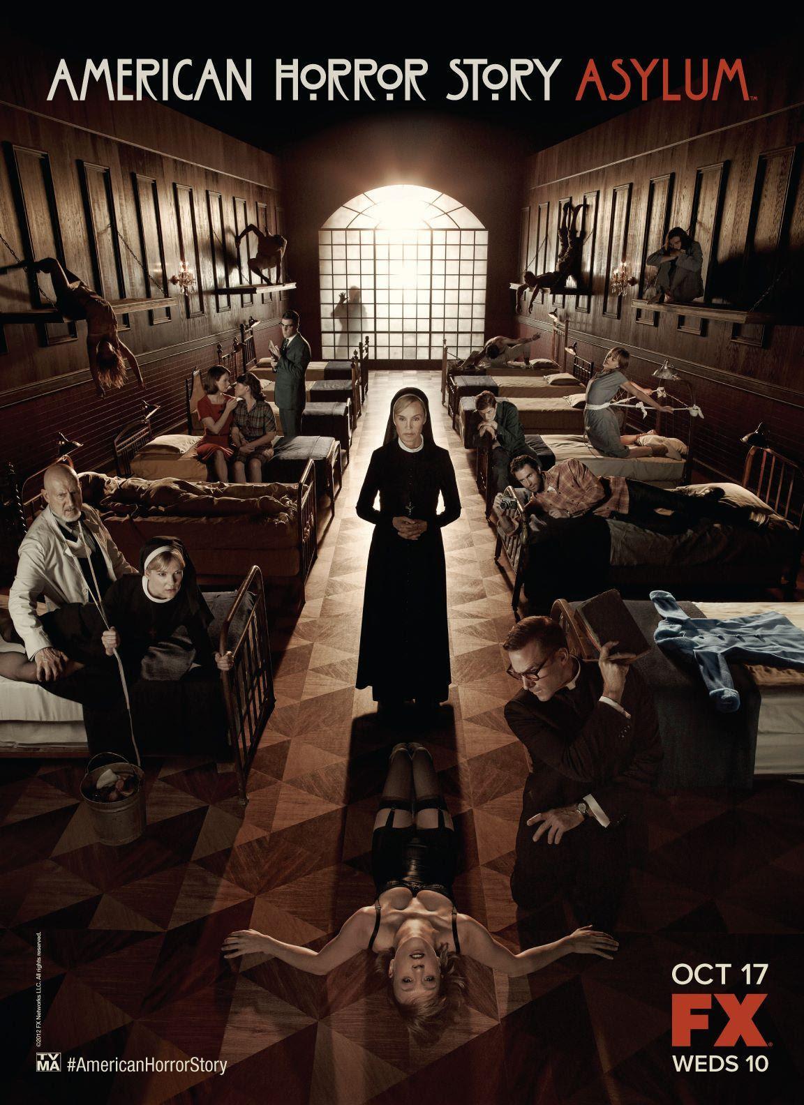 Resultado de imagem para american horror story asylum