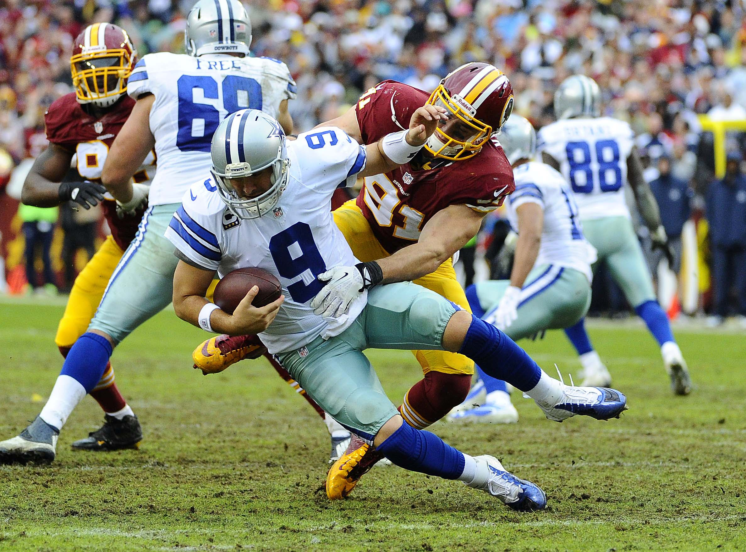 Washington Redskins Fans Will Miss ExCowboys Quarterback Tony Romo