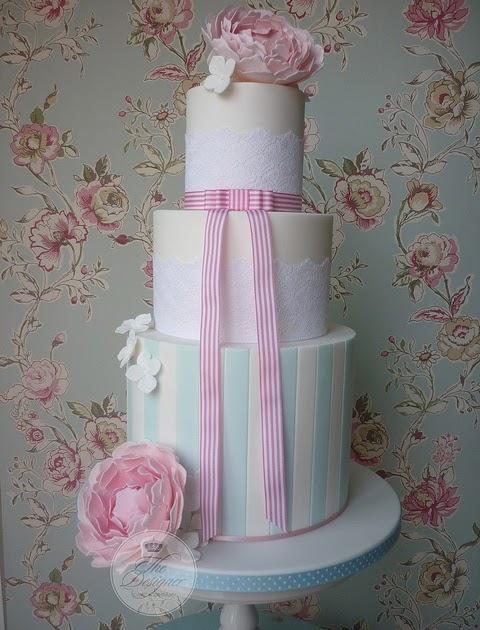 My Special Wedding Cake For You KatieSheaDesign Monogram Themed Cake