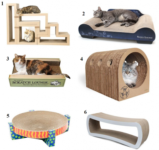 Unique Cardboard Cat Scratchers