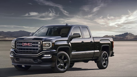 GMC Sierra Elevation Edition is a dark take on a tough truck