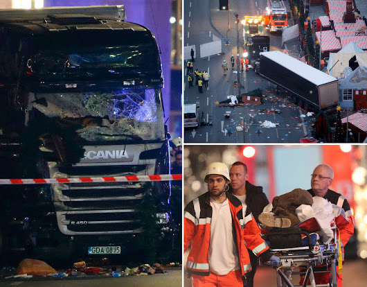 BERLIN TERROR: 'TWELVE' dead as truck crashed into crowd at Christmas market | Pictures | Pics | Daily Express