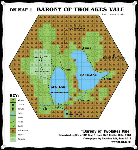 CM2 Twolakes Vale, 1 mile per square | Atlas of Mystara