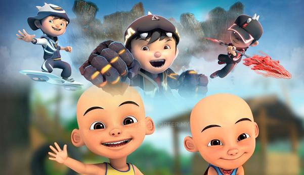 Upin Ipin, kartun Melayu yang mengajar budak-budak jadi biadap, Boboiboy lagilah biadap!