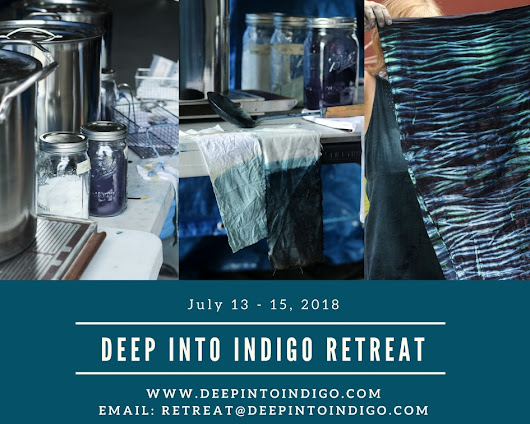 Deep Into Indigo Retreat 2018 - Password Jenina - Jennifer Falkowski