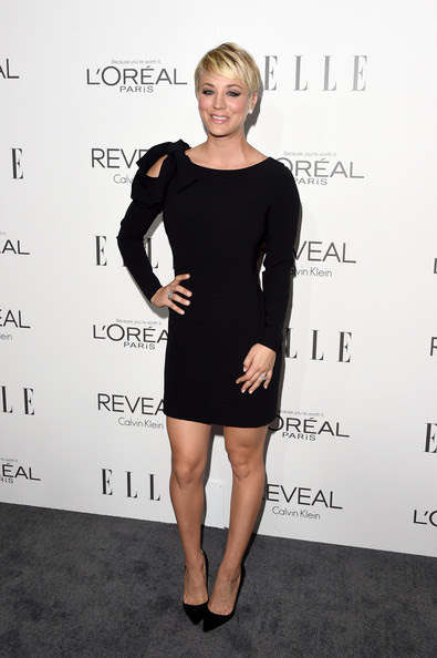 Actress Kaley Cuoco attends ELLE's 21st Annual Women in Hollywood Celebration at the Four Seasons Hotel on October 20, 2014 in Beverly Hills, California.
