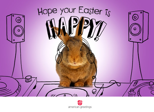 Ecard: 'Pharrell Williams 'HAPPY' Easter (Famous Song)'