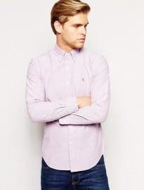 Polo Ralph Lauren Oxford Shirt In Slim Fit