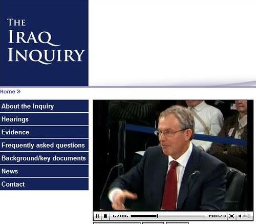 iraq inquiry tony blair