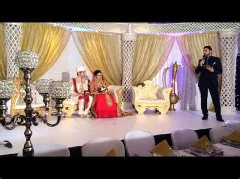 Muslim Wedding English Religious Nikah Marriage Ceremony