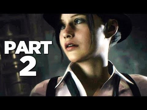 Gameplay RESIDENT EVIL 2 REMAKE Walkthrough Gameplay Part 2 (ELZA WALKER)