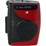 GPX AM/FM Portable Radio & Cassette Player CAS337B
