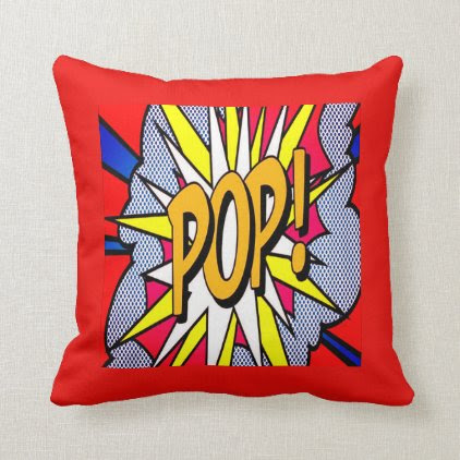 Red cushion POP