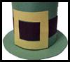 Leprechaun Hat for Chips Craft for Kids