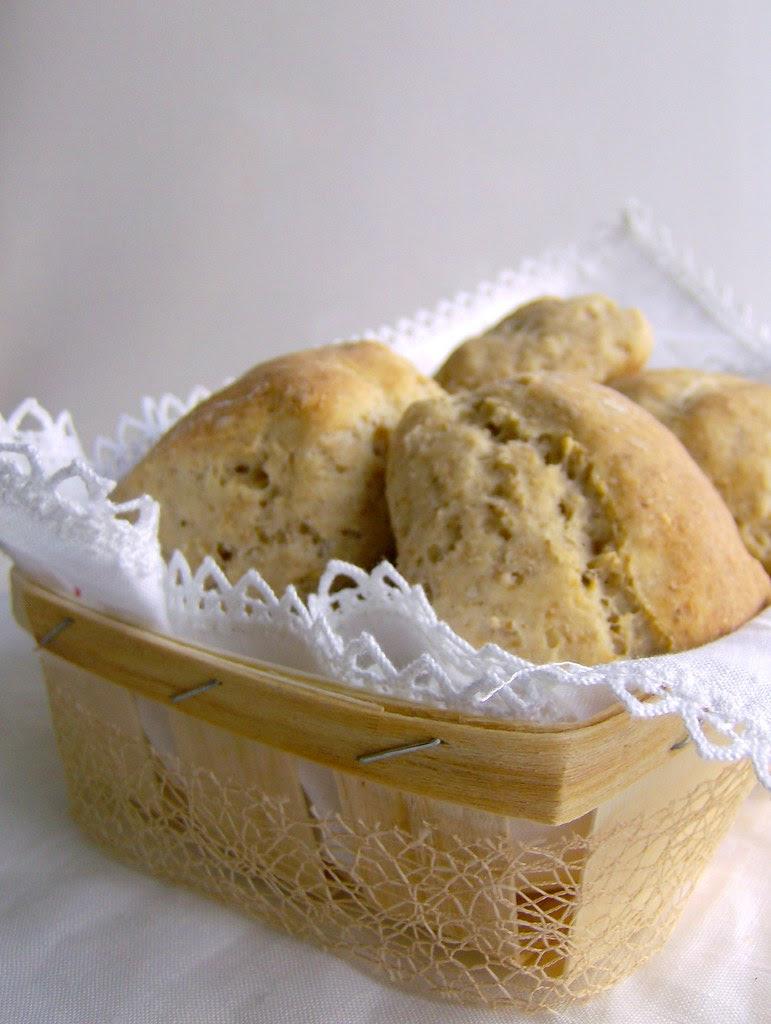 panecillos de avena y germen de trigo