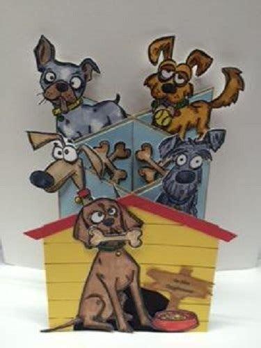 Sizzix Thinlits Tim Holtz Die Set 23PK Crazy Dogs 661593