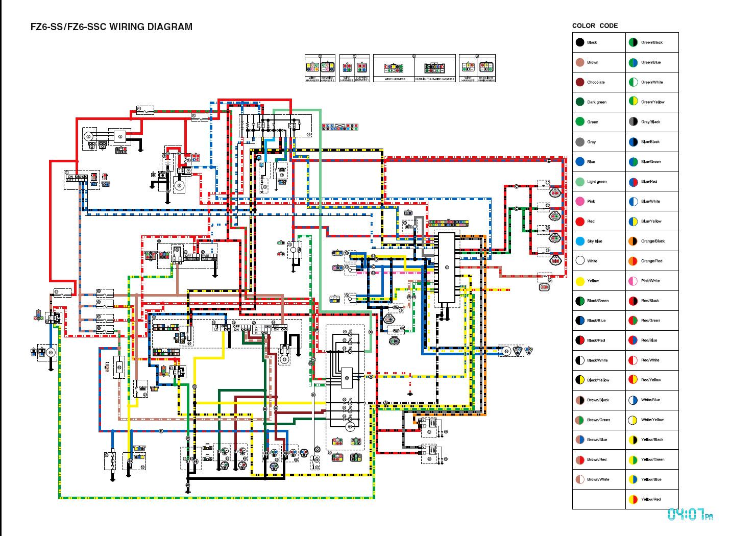 2003 Yamaha Fz1 Wiring Diagram Wiring Diagram Girl Pair A Girl Pair A Zaafran It